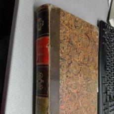 Libros antiguos: AÑO CRISTIANO / P. JUAN CROISSET / TOMO PRIMERO / MADRID AÑO 1852. Lote 102712211