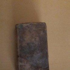 Libros antiguos: LIBRO OFICIO DE LA SEMANA SANTA SEGUN EL MISAL BREVIARIO ROMANOS POR MATEO BARCELO 1792. Lote 102769859
