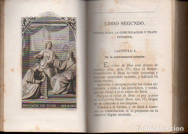 Libros antiguos: TOMÁS DE KEMPIS : DE LA IMITACIÓN DE CRISTO Y MENOSPRECIO DEL MUNDO (LLORENS, 1877) - Foto 3 - 102948387