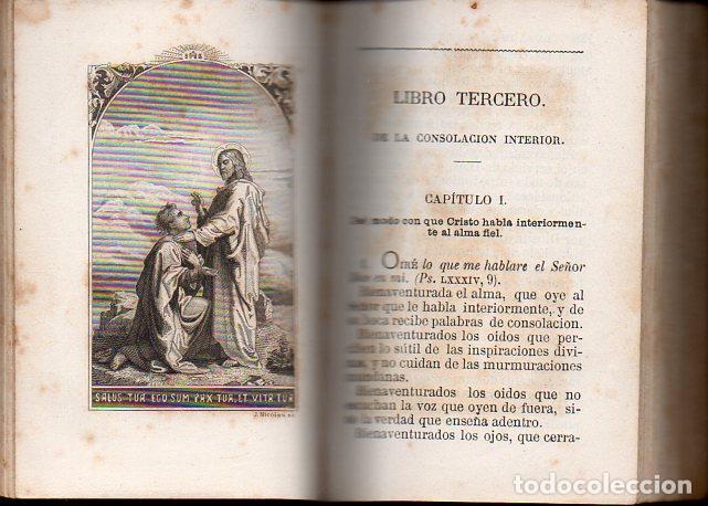 Libros antiguos: TOMÁS DE KEMPIS : DE LA IMITACIÓN DE CRISTO Y MENOSPRECIO DEL MUNDO (LLORENS, 1877) - Foto 6 - 102948387