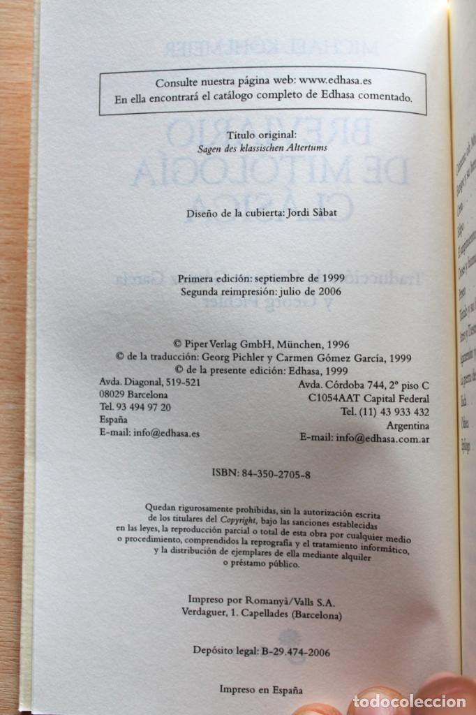 Michael Köhlmeier Breviario De Mitología Clásica 3 Volúmenes Edhasa