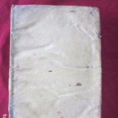 Libros antiguos: IOANNIS AEGIDII TRULLENCH VILLAE-REALIS REGNI VALENTIAE S.T.D. RT INSIGNIS - 1701. Lote 103562979