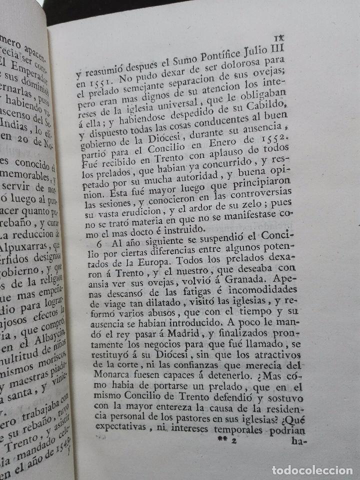 Libros antiguos: CONSTITUCIONES SINODALES DEL ARZOBISPADO DE GRANADA - DON PEDRO GUERRERO - MADRID - 1805 - - Foto 4 - 103779179