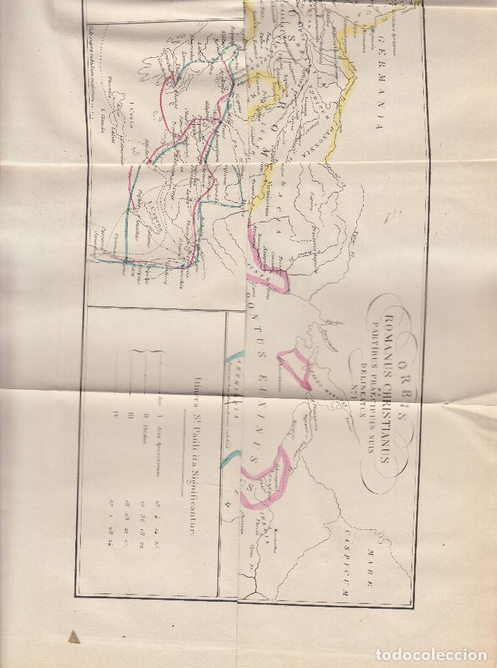 Libros antiguos: HISTORIA UNIVERSAL DE LA IGLESIA JUAN ALZOG 1868 MAPAS COMPLETA - Foto 2 - 103783267