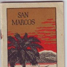 Libros antiguos: LT-044 SAN MARCOS EL SANTO EVANGELIO. Lote 103867119