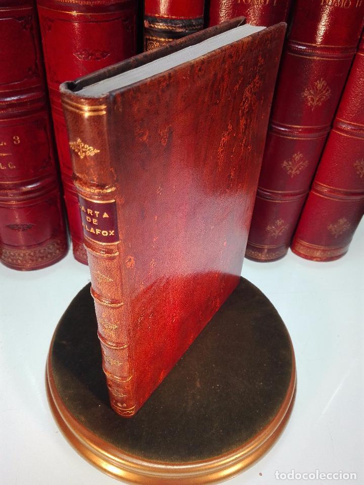 CARTA DEL VENERABLE SIERVO DE DIOS D. JUAN DE PALAFOX Y MENDOZA AL SUMO PONTIFICE INICENCIO X - 1768 (Libros Antiguos, Raros y Curiosos - Religión)