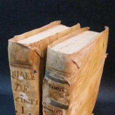 Alte Bücher - 1765 - PABLO SEÑERI - QUARESMA TRADUCIDA POR ANTONIO DE LAS CASAS - 2 TOMOS, COMPLETA - 104356355