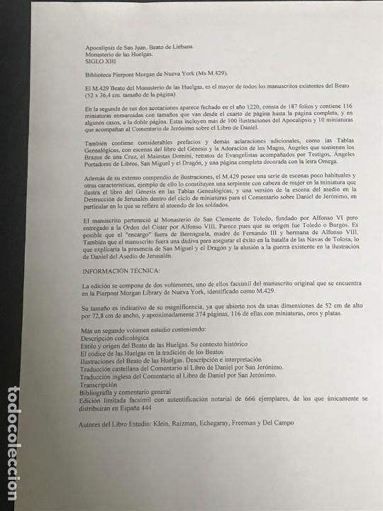 Libros antiguos: Beato del Monasterio de las Huelgas. Morgan Ms M.429 Scriptorium - Foto 39 - 104472747