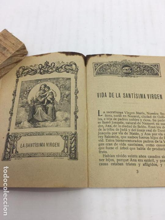 Libros antiguos: VIDA DE LA VIRGEN - COLECCIÓN FLORES CELESTES Nº 2 - S.CALLEJA - MADRID - 1915 - Foto 3 - 104693755