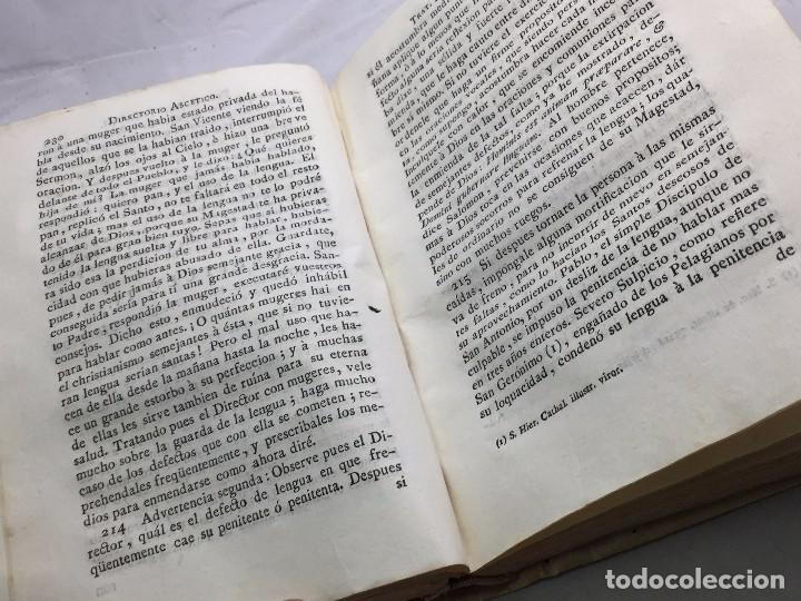 Libros antiguos: Directorio Ascético Scaramelli Bonet tomo II Madrid 1789 pergamino compañia Jesús Jesuita - Foto 9 - 104729355