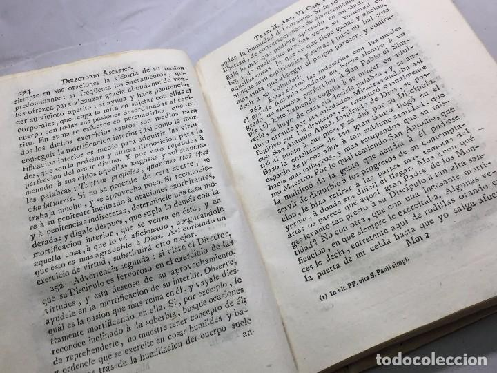 Libros antiguos: Directorio Ascético Scaramelli Bonet tomo II Madrid 1789 pergamino compañia Jesús Jesuita - Foto 10 - 104729355