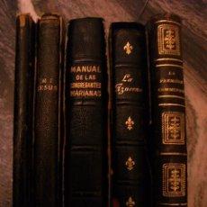 Libros antiguos: CINCO LIBROS PEQUEÑO FORMATO,. Lote 288588088