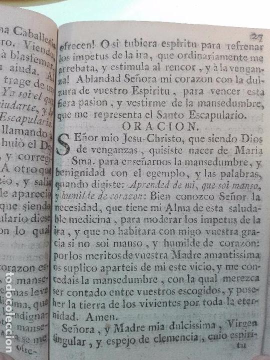Libros antiguos: REFLEXIONES SOBRE LA LETRILLA, QUE LLEVABA LA SANTA MADRE TERESA DE JESUS - D. GASPAR PEREZ GOMEZ - - Foto 14 - 105066731