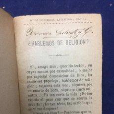 Libros antiguos: BIBLIOTECA LIGERA. NÚMEROS 1 A 43. 1880. Lote 120418864