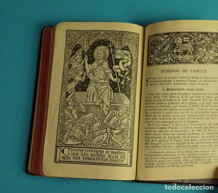 Libros antiguos: MANUAL LITÚRGICO SEMANA SANTA. P. ANDRÉS DE ASCONDO, S.J. - Foto 3 - 105175259