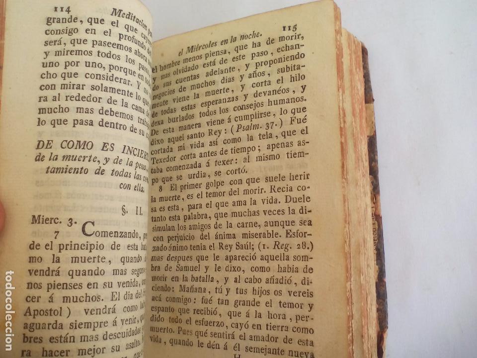 Libros antiguos: Libro de la Oración y Meditación del venerable Padre Maestro Fray Luis de Granada.1766.imp. Piferrer - Foto 10 - 105332939