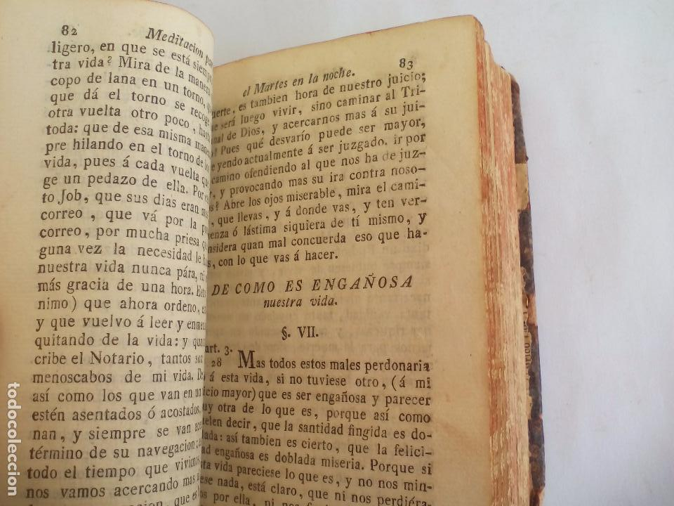 Libros antiguos: Libro de la Oración y Meditación del venerable Padre Maestro Fray Luis de Granada.1766.imp. Piferrer - Foto 11 - 105332939