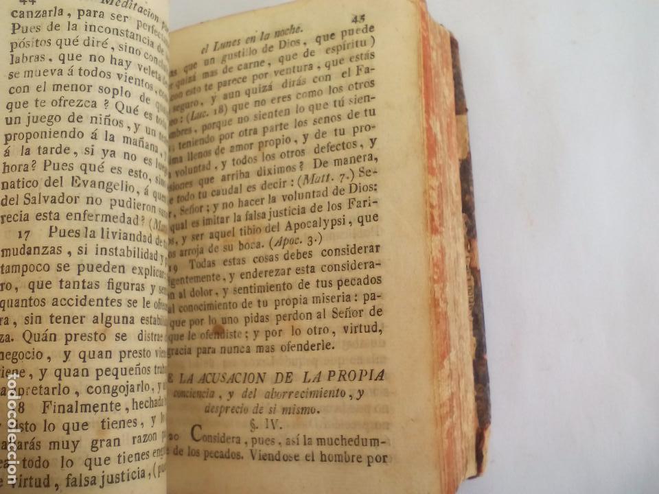 Libros antiguos: Libro de la Oración y Meditación del venerable Padre Maestro Fray Luis de Granada.1766.imp. Piferrer - Foto 12 - 105332939