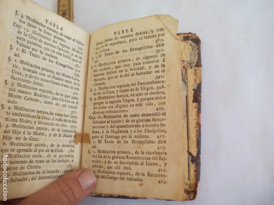 Libros antiguos: Libro de la Oración y Meditación del venerable Padre Maestro Fray Luis de Granada.1766.imp. Piferrer - Foto 13 - 105332939