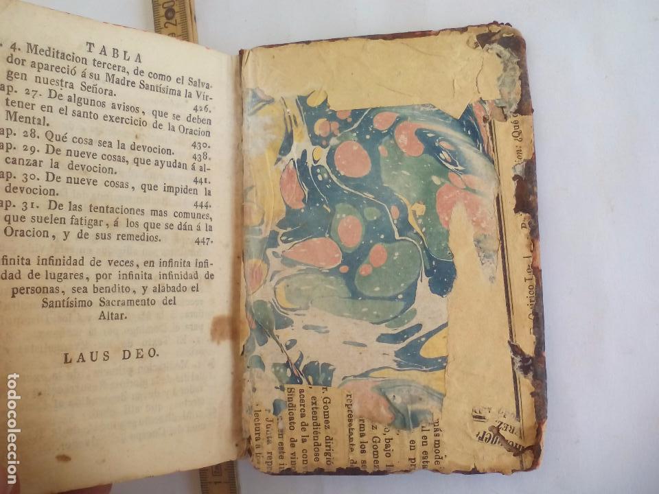Libros antiguos: Libro de la Oración y Meditación del venerable Padre Maestro Fray Luis de Granada.1766.imp. Piferrer - Foto 14 - 105332939