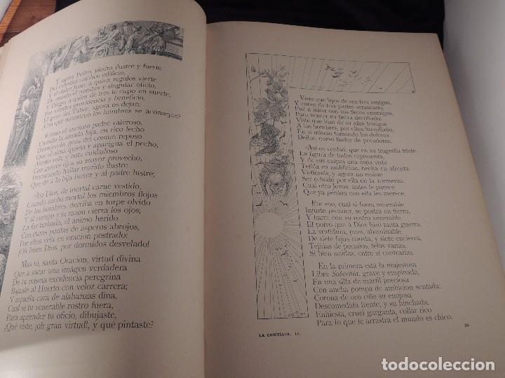 Libros antiguos: LIBRO LA CRISTIADA VIDA DE JESUS POR DIEGO DE HOJEDA 1896 - Foto 6 - 105834599