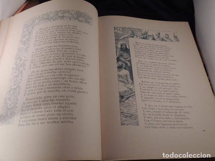 Libros antiguos: LIBRO LA CRISTIADA VIDA DE JESUS POR DIEGO DE HOJEDA 1896 - Foto 9 - 105834599