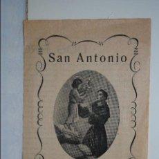 Libros antiguos: SAN ANTONIO . Lote 106082515