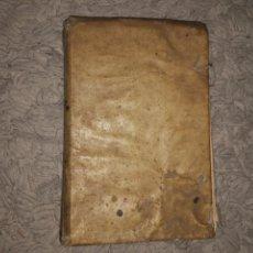 Libros antiguos: TEATRO DE LOS DIOSES DE LA GENTILIDAD. PRIMERA PARTE 1657. MADRID. PERGAMINO. FRAY BALTASAR. Lote 106089879