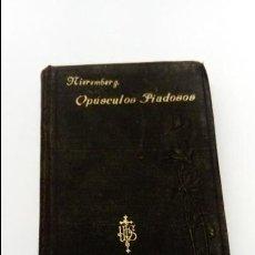 Libros antiguos: LIBRO OPUSCULOS PIADOSOS NIEREMBERG. Lote 106160879