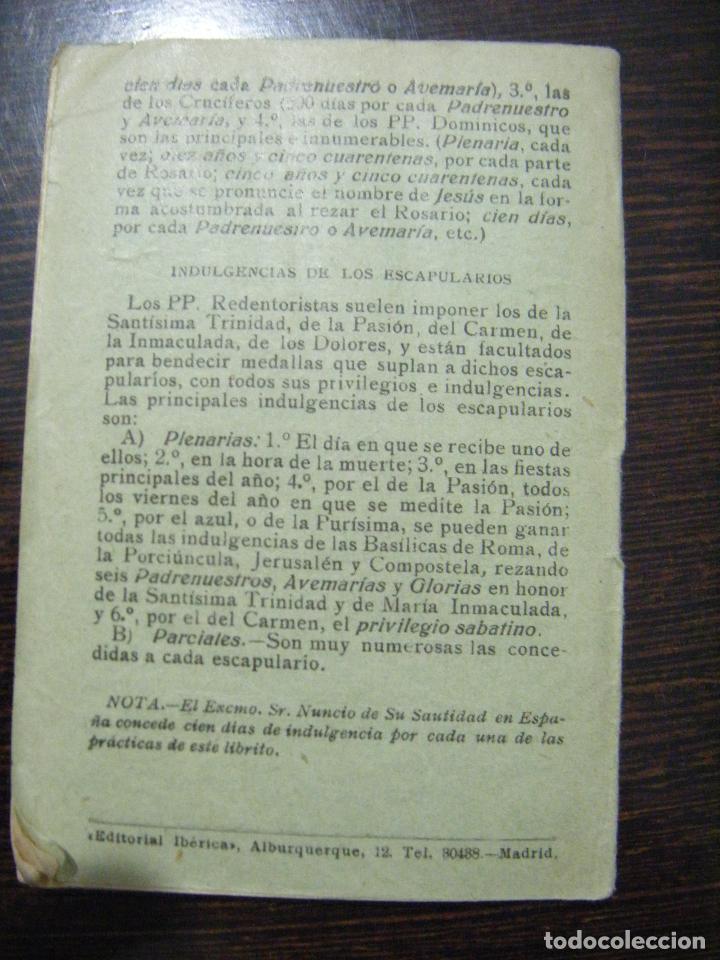 Libros antiguos: JML RELIGION RECUERDO DE LA SANTA MISION DE LOS P.P. REDENTORISTAS, MADRID EL PERPETUO SOCORRO 1928. - Foto 3 - 106560887