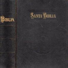 Libros antiguos: SANTA BIBLIA CIPRIANO DE VALERA (SOCIEDAD BÍBLICA, MADRID, 1921) FORMATO GRANDE. Lote 106563639