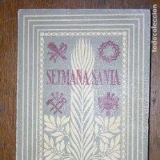 Libros antiguos: F1 SEMANA SANTA EDICIO COMPLETA EDITORIAL BALMES DURAN I BAS 9 11 AÑO 1957. Lote 106583143