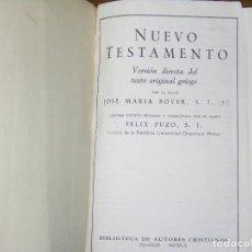 Libros antiguos: F1 NUEVO TESTAMENTO AÑO 1960 MEDIDAS 16 X 9 CM. Lote 106637623