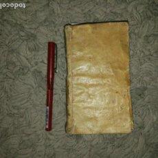 Libros antiguos: IL MAESTRO SPIRITUALE DELL' ANIMA. IN DUE PARTI. 1625. PERGAMINO.. Lote 106786307