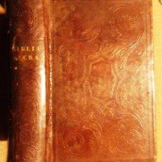 Libros antiguos: BIBLIA SACRA VULGATE EDITIONIS 1862 SIXTI V PONT. MAX. JUSSU RECOGNITA ET CLEMENTIS VIII AUCTORITATE. Lote 107013747