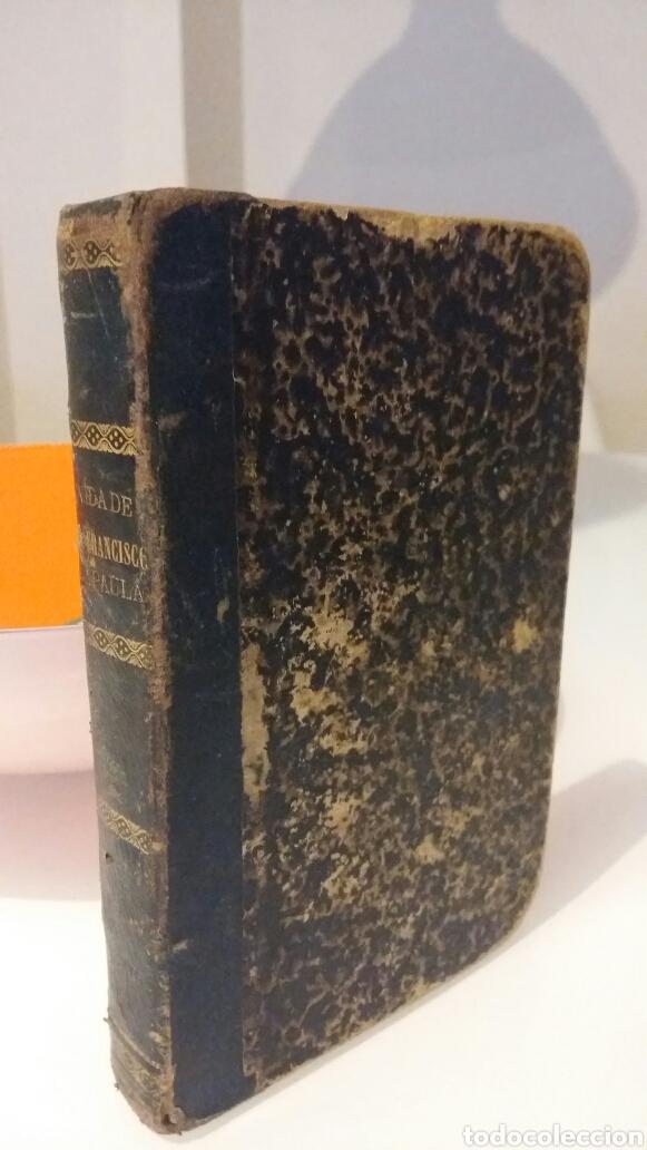 PORTENTOSA VIDA Y ADMIRABLE DE SAN FRANCISCO DE PAULA. VALENCIA. IMPRENTA ORTEGA. 1875. GRABADO. (Libros Antiguos, Raros y Curiosos - Religión)