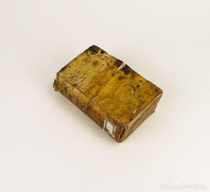 Nicolai Avancini - Panegyres - libro tapas de pergamino - año 1.693 segunda mano