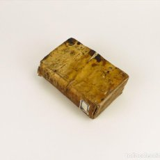 Libros antiguos: NICOLAI AVANCINI - PANEGYRES - LIBRO TAPAS DE PERGAMINO - AÑO 1.693. Lote 108288607