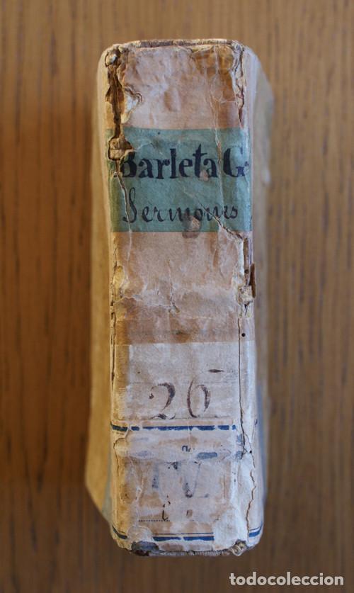 Libros antiguos: Año 1521. Libro siglo XVI en pergamino. Barlete Sermones exactissime ipsessi: S. Bendictu britanicu - Foto 3 - 109042727