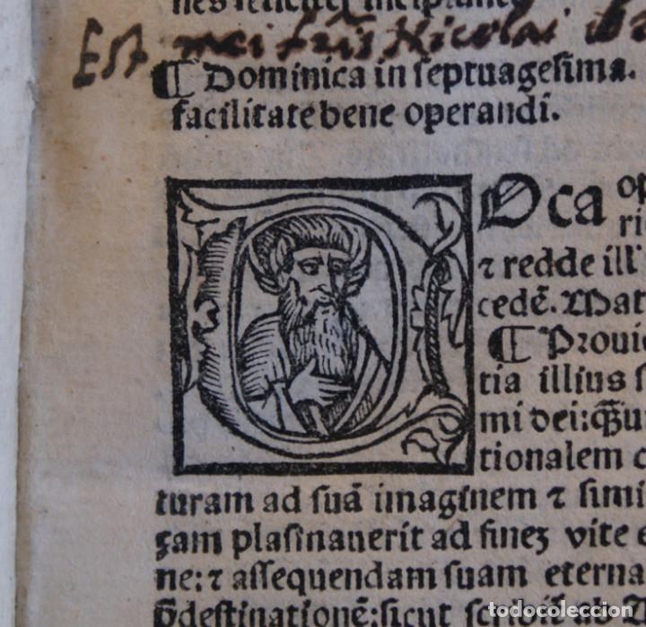 Libros antiguos: Año 1521. Libro siglo XVI en pergamino. Barlete Sermones exactissime ipsessi: S. Bendictu britanicu - Foto 11 - 109042727