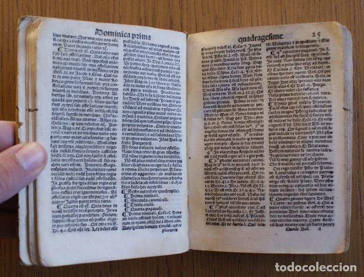 Libros antiguos: Año 1521. Libro siglo XVI en pergamino. Barlete Sermones exactissime ipsessi: S. Bendictu britanicu - Foto 12 - 109042727