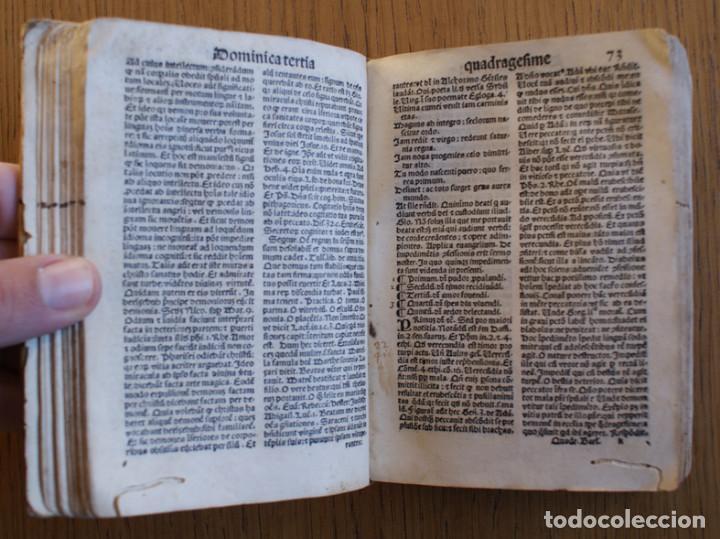 Libros antiguos: Año 1521. Libro siglo XVI en pergamino. Barlete Sermones exactissime ipsessi: S. Bendictu britanicu - Foto 14 - 109042727