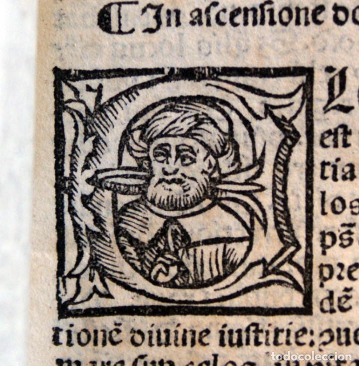 Libros antiguos: Año 1521. Libro siglo XVI en pergamino. Barlete Sermones exactissime ipsessi: S. Bendictu britanicu - Foto 20 - 109042727