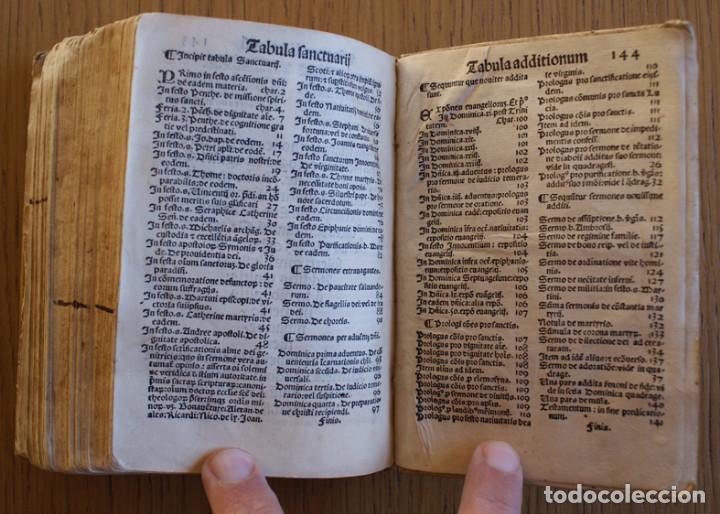 Libros antiguos: Año 1521. Libro siglo XVI en pergamino. Barlete Sermones exactissime ipsessi: S. Bendictu britanicu - Foto 25 - 109042727