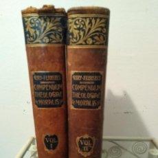 Libros antiguos: COMPENDIUM THEOLOGIE MORALIS . POR JOANNIS PETRI GURY 1913. TOMUS 1 Y 2 VOL I Y II. Lote 109049711