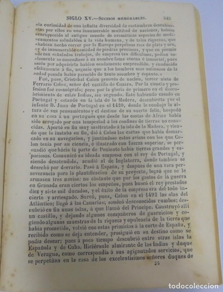 Libros antiguos: CLAVE HISTORIAL. FRAY HENRIQUE FLOREZ. MADRID. 1854. LEER - Foto 5 - 109446883