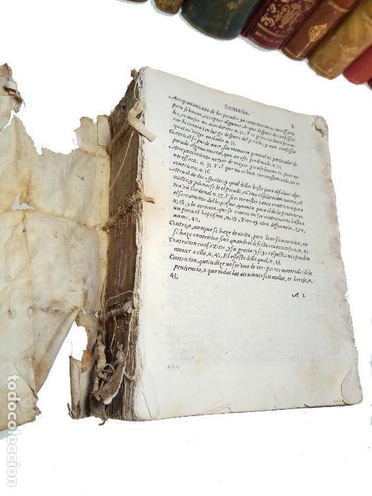 Libros antiguos: IMPORTANTE OBRA POST-INCUNABLE MANUAL DE CONFESORES Y PENITENTES - MARTÍN DE AZPILICUETA - 1565 - - Foto 3 - 109538495