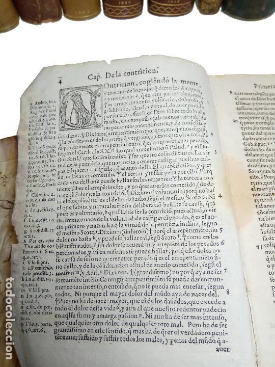 Libros antiguos: IMPORTANTE OBRA POST-INCUNABLE MANUAL DE CONFESORES Y PENITENTES - MARTÍN DE AZPILICUETA - 1565 - - Foto 4 - 109538495