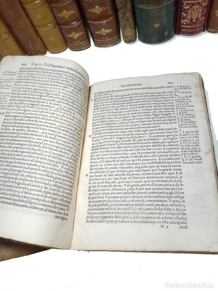 Libros antiguos: IMPORTANTE OBRA POST-INCUNABLE MANUAL DE CONFESORES Y PENITENTES - MARTÍN DE AZPILICUETA - 1565 - - Foto 5 - 109538495