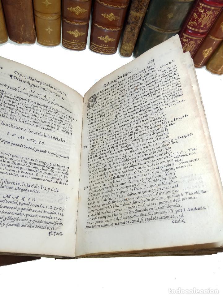 Libros antiguos: IMPORTANTE OBRA POST-INCUNABLE MANUAL DE CONFESORES Y PENITENTES - MARTÍN DE AZPILICUETA - 1565 - - Foto 6 - 109538495
